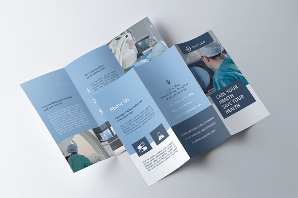 Dental Clinic PSD Brochure