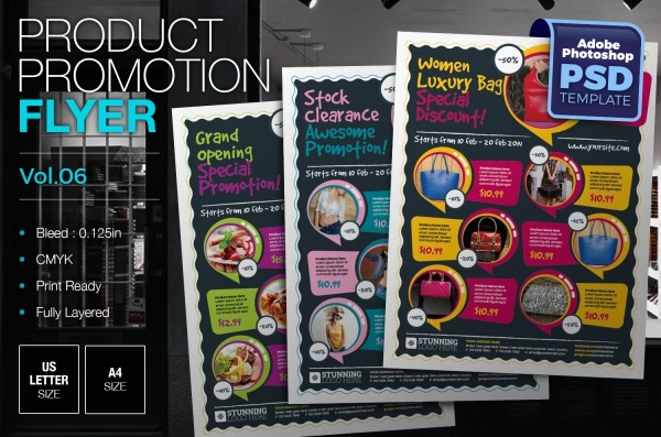 Multipurpose Product Sales Promotion Flyer