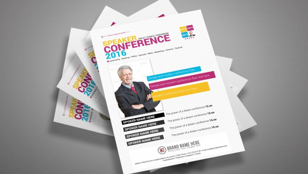 25 realistic seminar flyers templates word psd ai illustrator