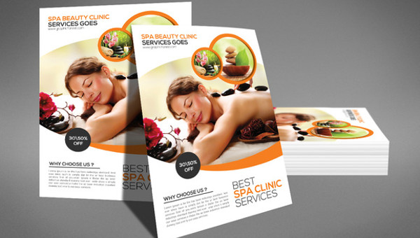 25 Massage Flyer Templates Psd Ai Illustrator Download