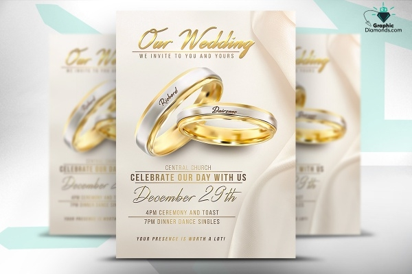 High Quality Wedding Flyer