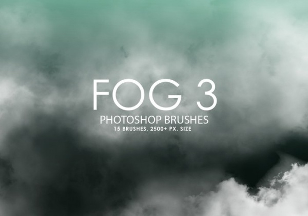 15 high quality fog effect brushes
