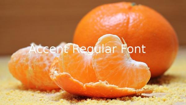 Accent Regular Font
