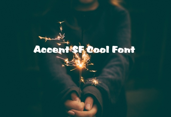 Accent SF Cool Font