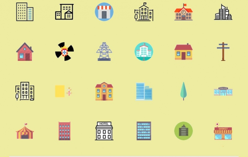 Amazing City Icons for Desktop