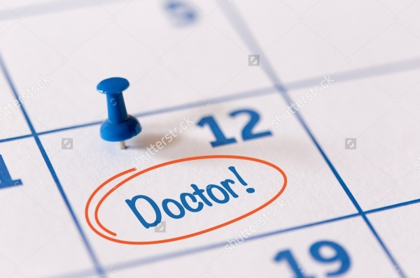 Appointment Calendar of Doctor