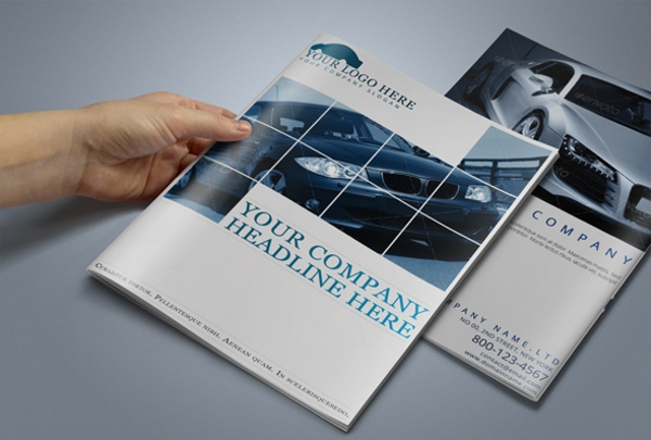 Automobile Car Brochure Template