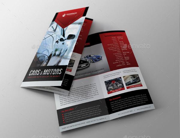 Automotive Car sale Rental Brochure