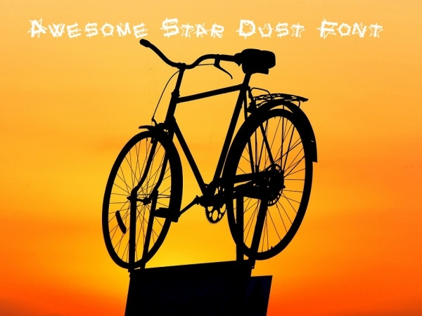 Awesome Star Dust Font