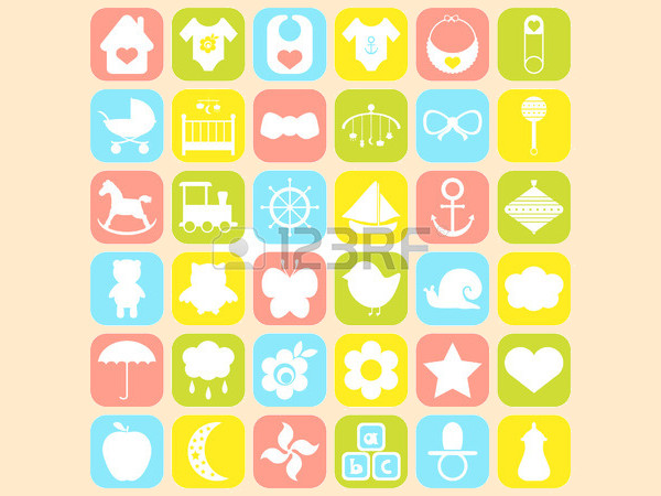Baby Shower Icons For Desktop