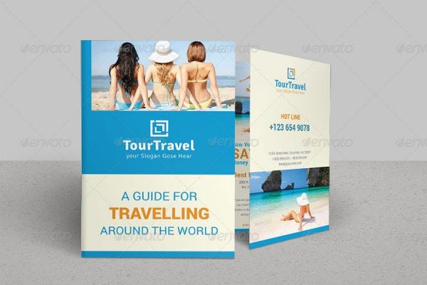 Bi Fold Tourism Brochure Design