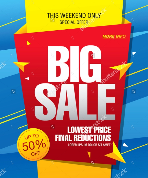 Big Sale Event Banner Design