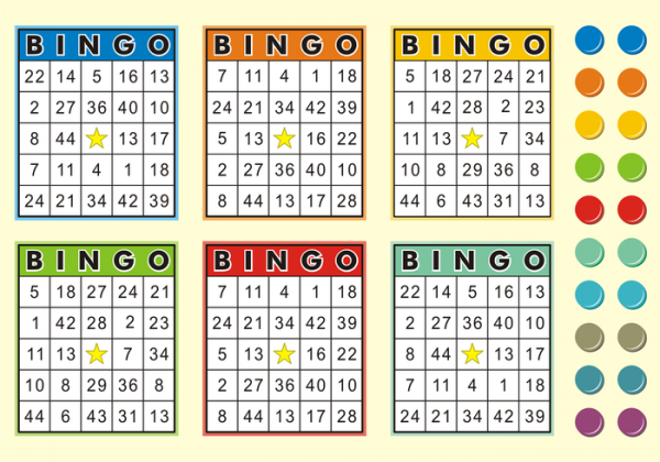 Bingo Cards Free Vector