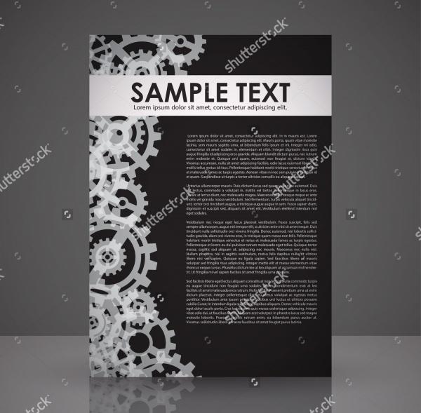 Black Elegant Flyer Template