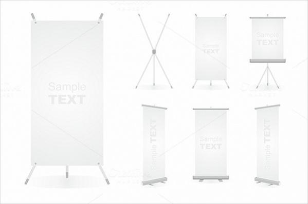 Blank Pop Up Banner