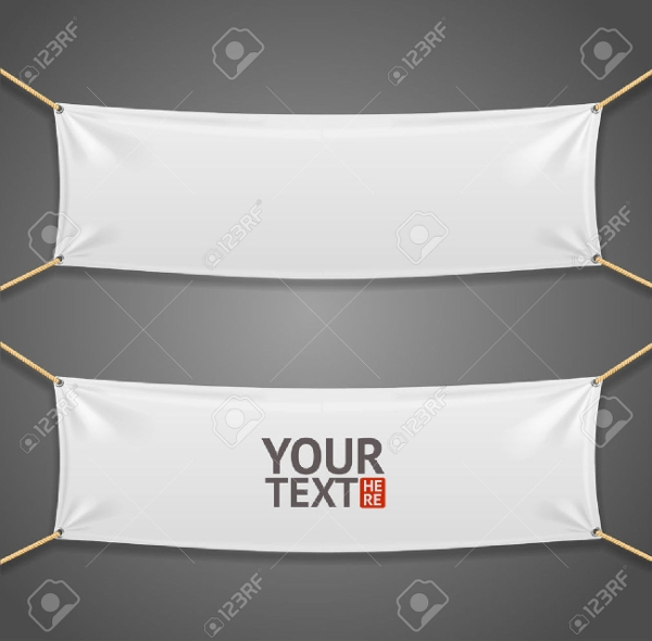 Blank Roll Up Banner for Event