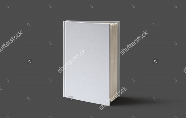 Blank Square Book Mock-up Design