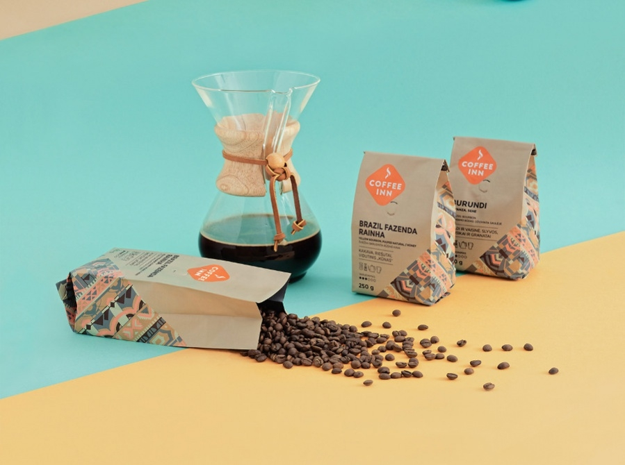 Blended Coffee Packaging Design