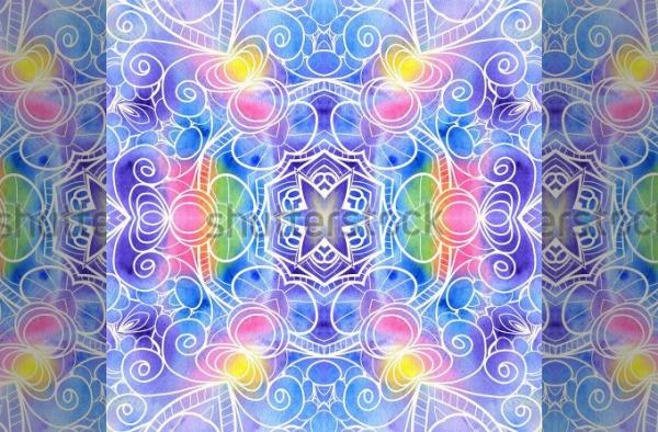 Bohemian Ornamental Lace Pattern