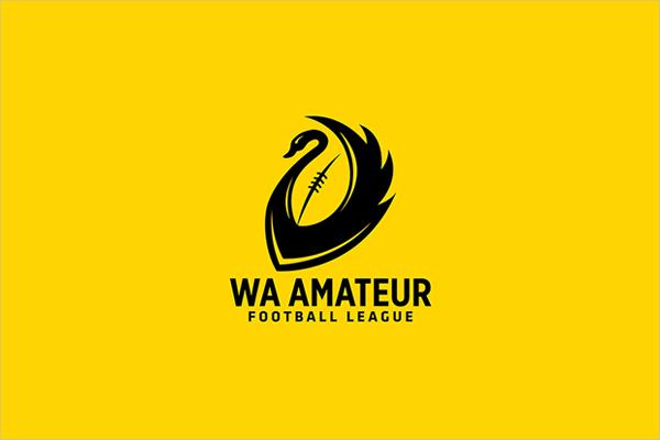 Branding Identity Football Logo