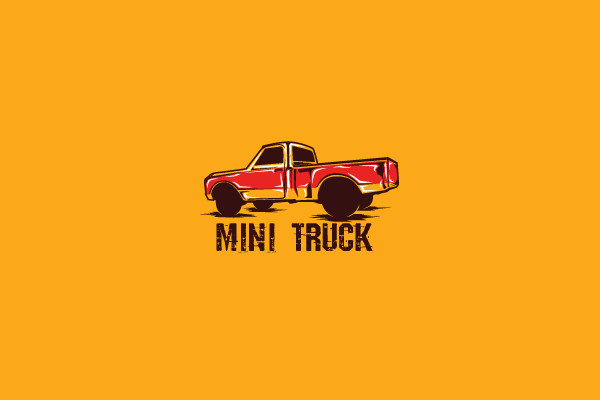 Branding Mini Truck Logo