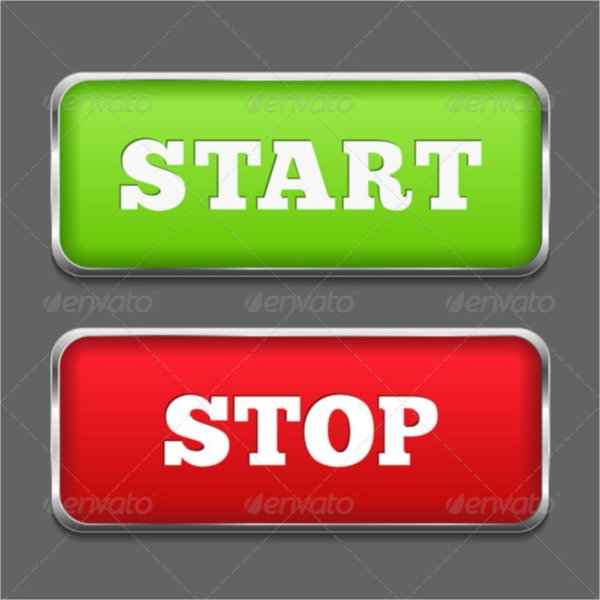 Browser Start & Stop Buttons