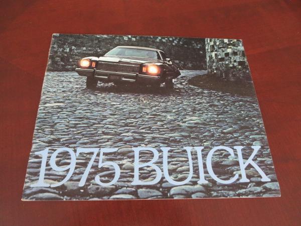 Buick Car Sales Brochure