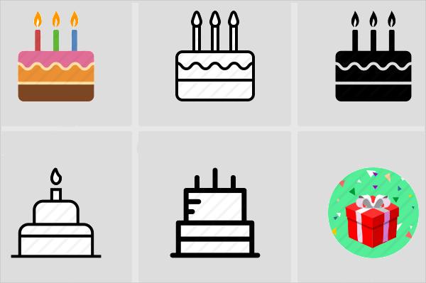 cake designs anniversary icons