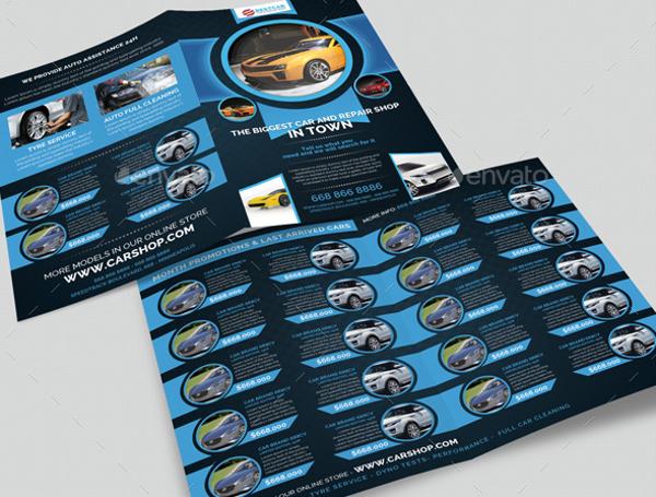 Car Dealer Auto Services Brochure