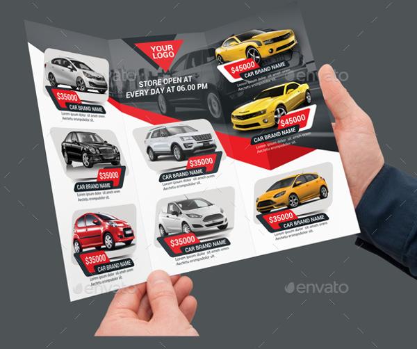 Car Sale Tri Fold Brochure