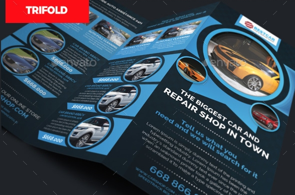 Car Sales Dealer Brochure