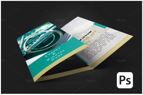 Car Sales Sevice Brochure