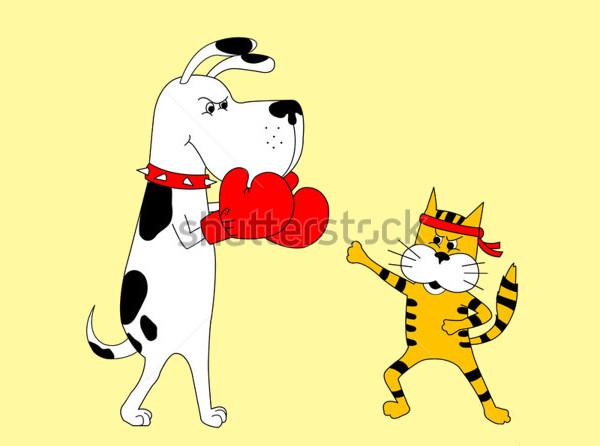Cartoon Animal Sports Clipart