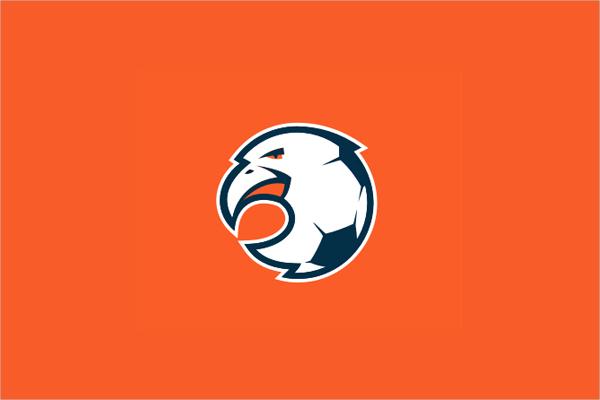 Cartoon Children Football Academy logo