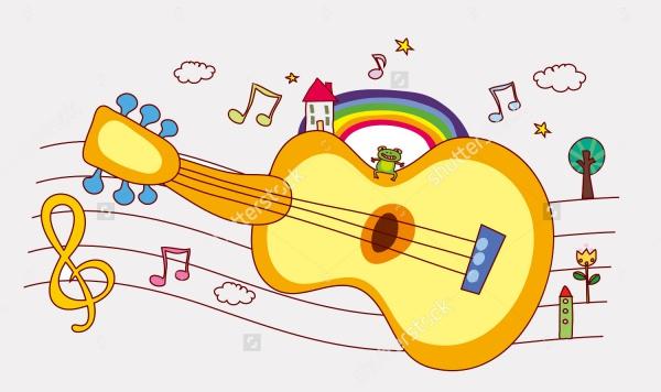 Cartoon Music Clipart