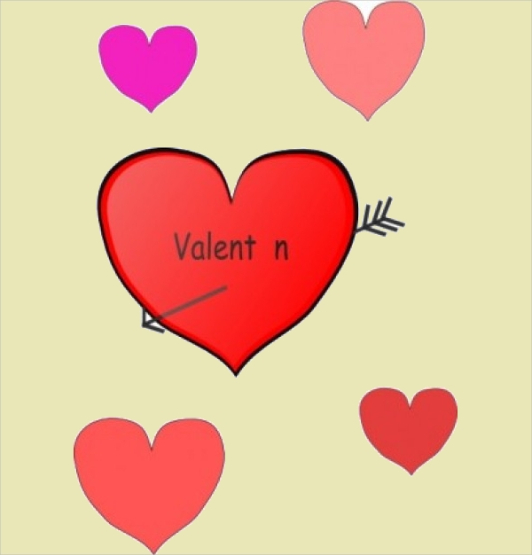 cartoon vector heart clip art