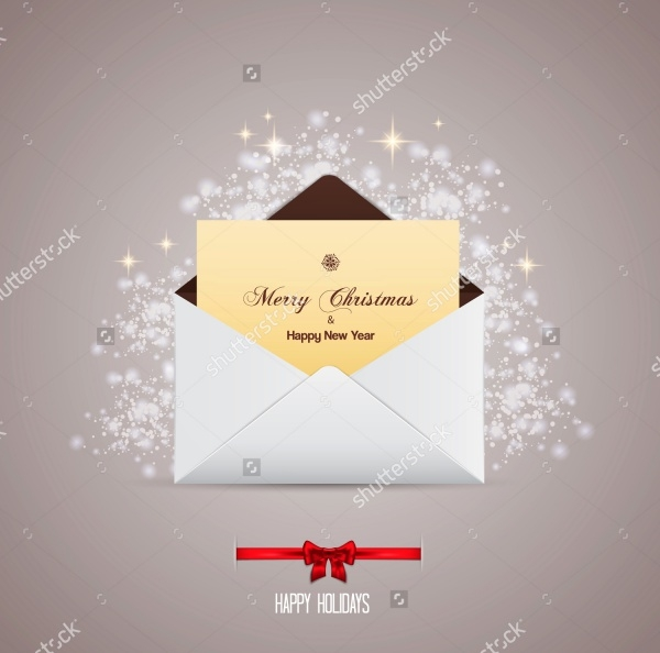 Christmas Email Card Design