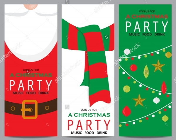 Christmas Party Banner Design