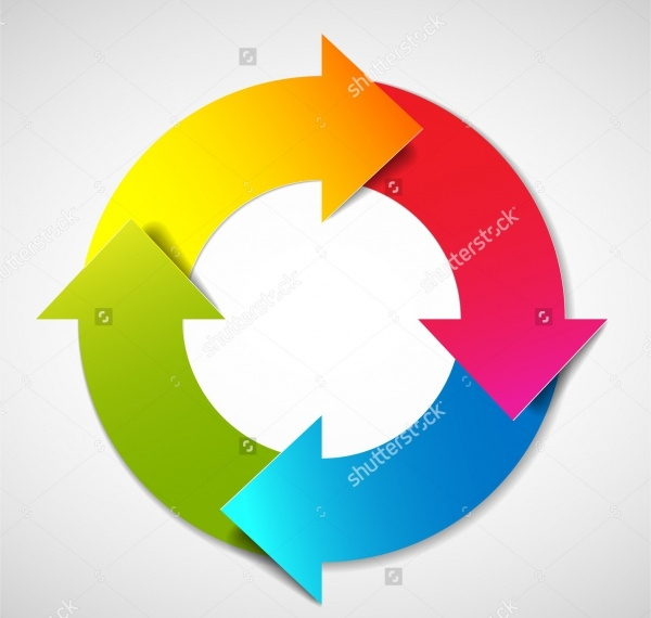 Circular Arrow Illustration