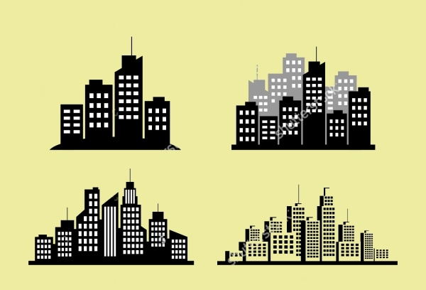 City Vector Icon Pack