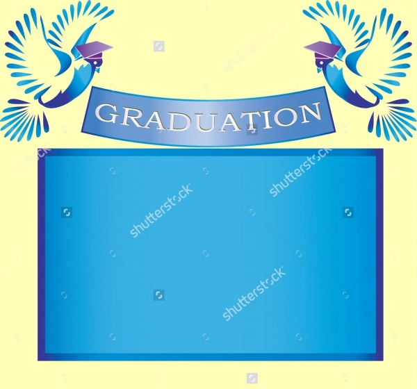Classic & Simple Graduation Banner