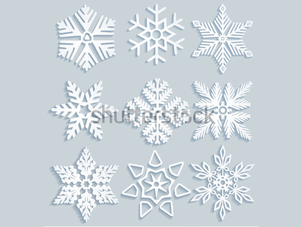 Clipart Design for Snowflake