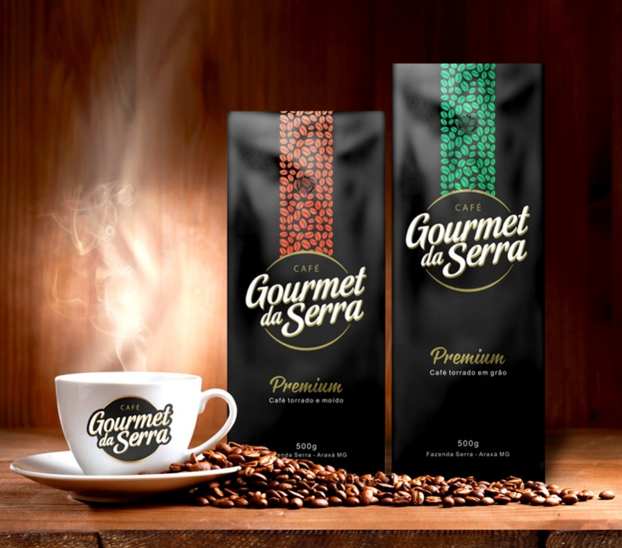 Coffee Gourmet - Logo and packaging