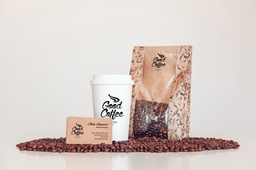 Coffee PSD Packaging Design