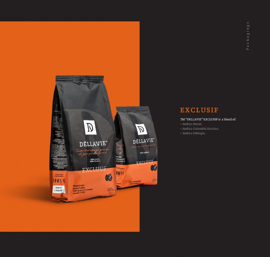 Coffee Packaging Website Logotype
