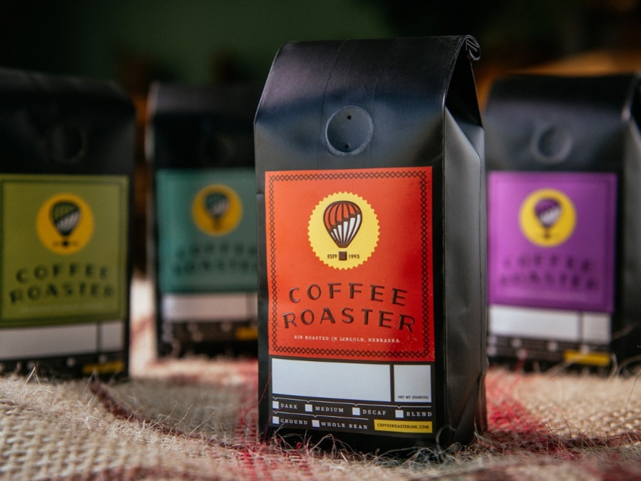Coffee Roaster Packaging