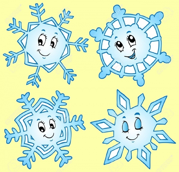 Cold Cute Decorative Clip-art