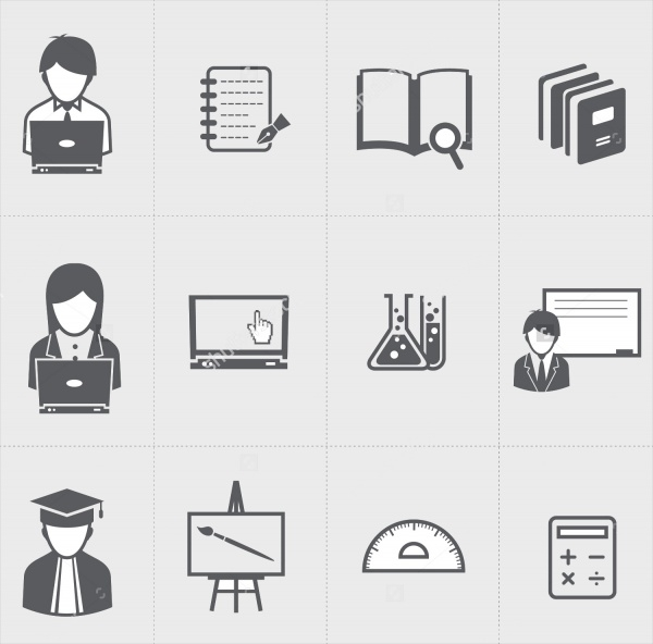 Collection of Student Icons