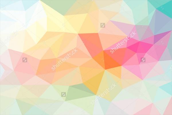 Colorful Polygon Pattern
