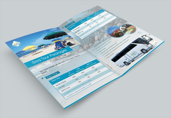 Colorful Tourism Brochure Design